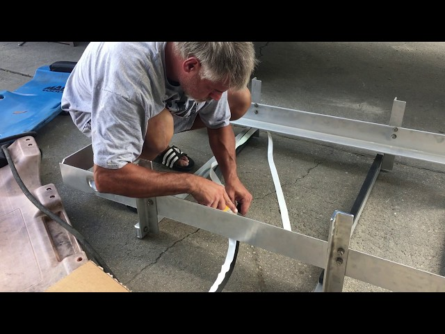 RV Trailer Build #73 - (Part 1) Black/Grey Install Tank Prep
