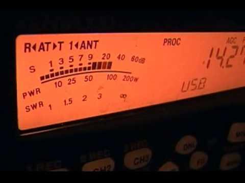 OD5ZZ in Lebanon on 14 MHz SSB