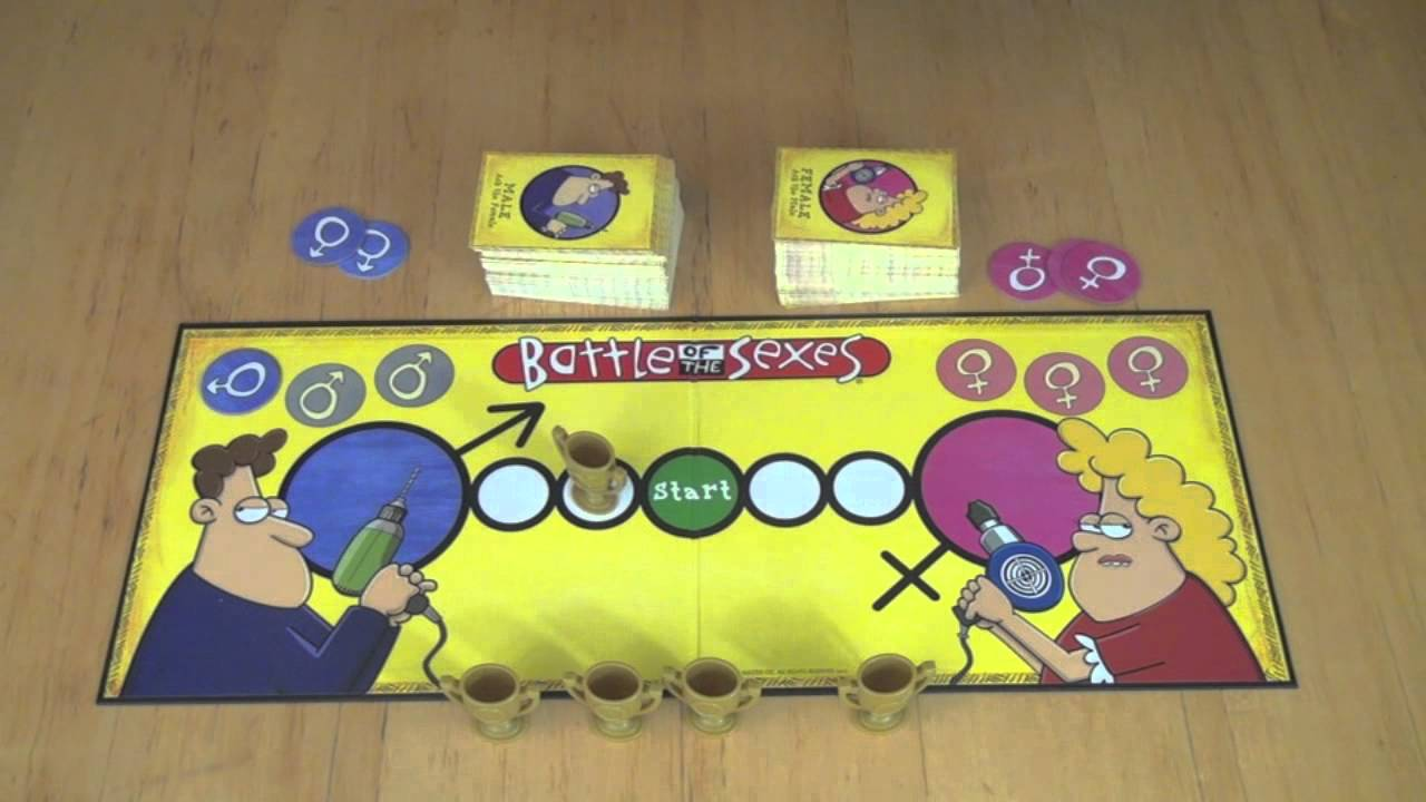 Battle of the sexes board game rules