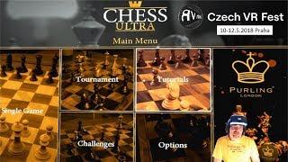 Chess Ultra | Šachy ve virtuální realitě | PS4 Pro / PSVR | CZ 1440p
