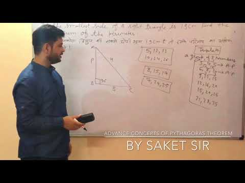 """Geometry""_Advance concepts of Pythagoras Theorem (Tricky questions made easy)"