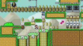 ♥♡そういえばワールドスキンでは初のお手軽SPEEDRUN♡♥ by ♪ほのか♪ - Super Mario Maker - No Commentary ほのか 検索動画 9