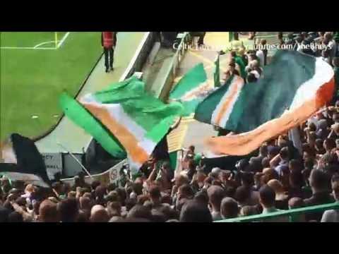 Celtic Fans singing Grace - Standing Section | Celtic vs Aberdeen