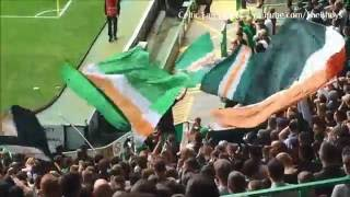 Celtic Fans singing Grace - Standing Section | Celtic vs Aberdeen