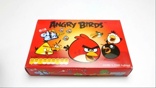 Red Angry Birds Gummy Candy from South Korea
