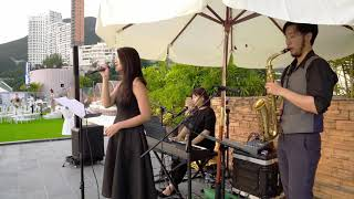 Can't help falling in love (Acoustic Trio) @The Vow - Felice Studio Live Band