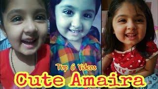 Little Cute Girl  Amaira Shahnawaz _ Top 6 Videos oF Beautiful  Amaira   HD