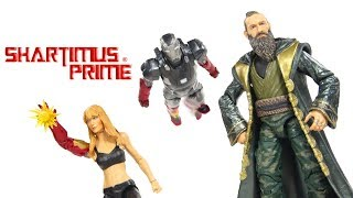 Marvel Legends Pepper Potts, Mandarin, and Mark 22 Hot Rod Iron Man 3 Moive First 10 Years Review
