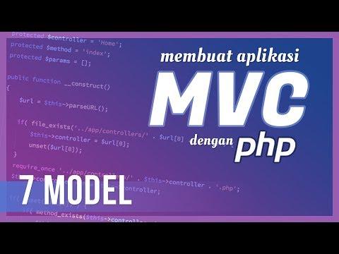 Membuat Aplikasi MVC Dengan PHP #7 Model