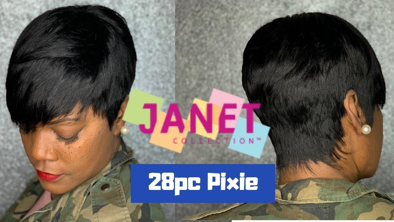 Janet Collection 12 pcs  Pixie Cut  Vlogmas