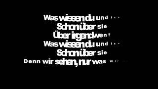 Clueso - Du und Ich lyrics