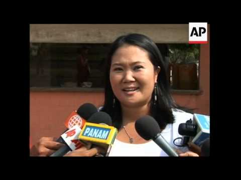 The Daughter Of A Jailed Ex-President Could Become Peru's Next ...