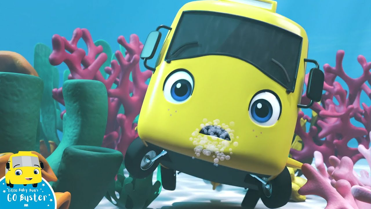 Download WOW! Bust is UNDERWATER!   Go Buster!   Bus Cartoons for Kids!   Funny Videos & Songs