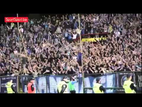 "The fans chanted ""Freedom for Palestine"" during a match in Bosnia and Herzegovina"