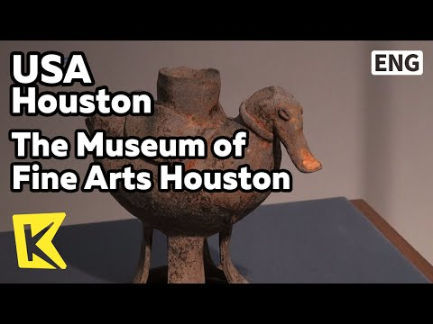 【K】USA Travel-Houston[미국 여행-휴스턴]휴스턴 미술 박물관/Houston/The Museum of Fine Arts Houston/Korean Pavilion