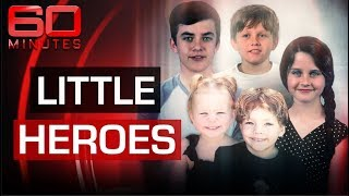 The five courageous child heroes that saved their mum's life | 60 Minutes Australia