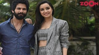 Shahid and Shraddha in their simple and classy look | Style Today