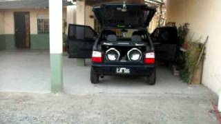 fiat uno fire con audio by lucas
