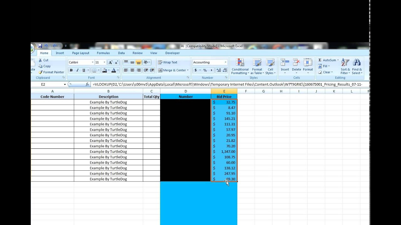 How To Remove Get Rid Of Vlookup Or Vlookup In Excel Cell