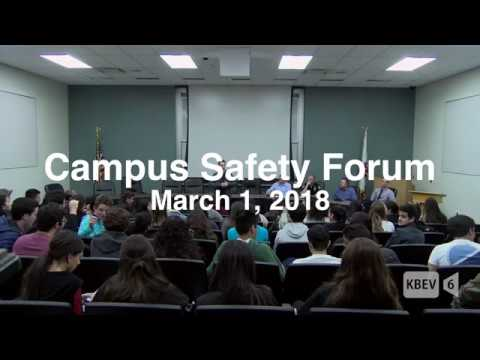 School Safety Forum- Beverly Hills High School (March 1, 2018)