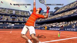 Virtua Tennis 4 - PS3 - Arcade Mode & Unlock Duke (Easy) with Rafael Nadal