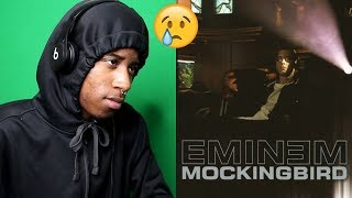 I REALLY CRIED 😢   Eminem - Mockingbird (Official Music Video)   REACTION