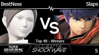 USW 5 - Armada   BestNess (Wii Fit) vs Slaps (Ike) Top 48 - Winners - SSBU