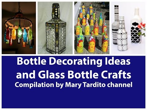 400+ Bottle Decorating Ideas and Glass Bottle Crafts Ideas C