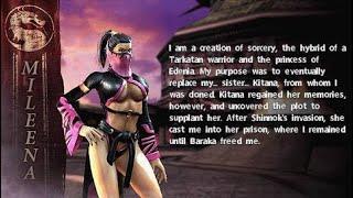Mortal kombat unchained #2 mileena