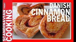 Danish Cinnamon Bread Recipe -  Kanelbroed