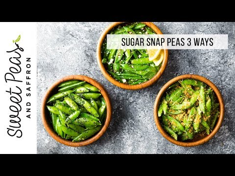 How To Cook Sugar Snap Peas (3 ways!)