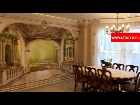 Обзор построенного дома «под ключ»🗝 235м2 в Москве и МО