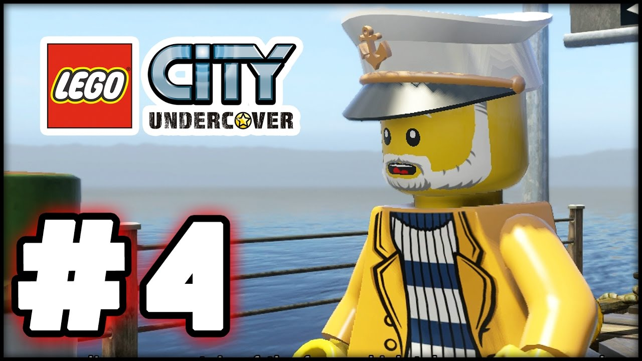 Lego City Undercover Part 4 Albatross Island Hd Gameplay Walkthrough Youtube