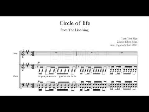 14 Elton John CIRCLE OF LIFE