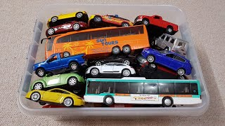 Review Toy Cars for Boys Video For Kids NEW Cars, Bus