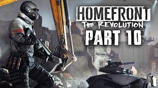 Homefront The Revolution Gameplay Walkthrough Part 10 - GOLIATH ONLINE