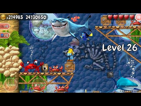 Incredible Jack: Jump And Run (Offline Game) - Level 26 | Hashimi Gaming |.