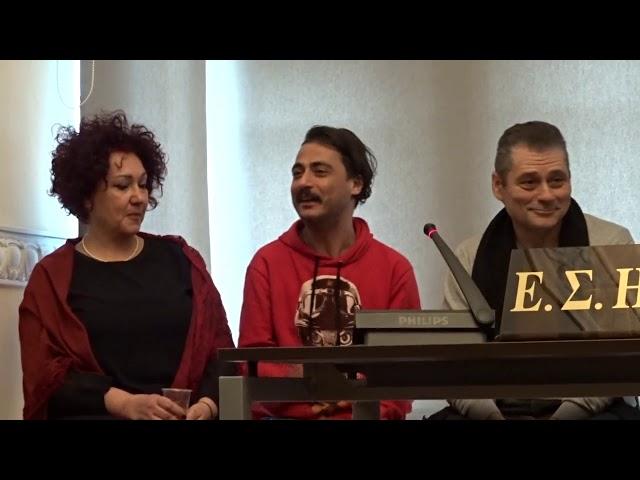 Πλανόδιοι Έρωτες - Άγγελος Κολοκοτρώνης - Συνέντευξη Τύπου stellasview.gr