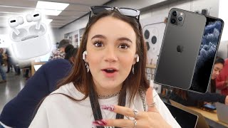 I Test Out the iPhone 11 Pro & Airpods Pro ... FionaFrills Vlogs