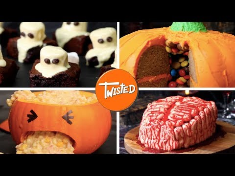 10 Last Minute Halloween Treats | Party Snacks | Twisted