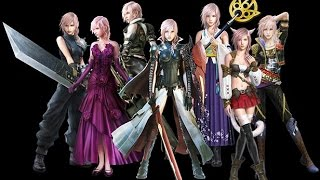 Lightning Returns: Final Fantasy XIII all Outfit,Weapons and Customization