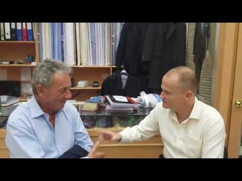 Pacific Custom Tailors interview Michael Doulton