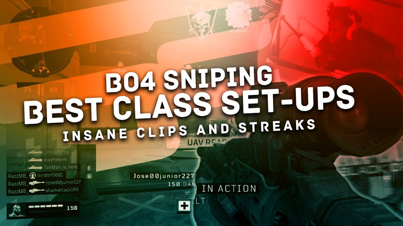 Black Ops 4 Sniping & Best Class Setups in the Beta (Max Level