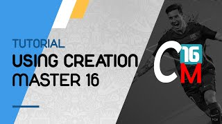 fIFA16: Using Creation Master 16 (Regenerating, Installing Kits...)