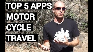 Top Five Apps For Motorcycle Travel (2018)