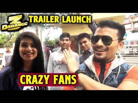Dabangg 3 Trailer Launch | Fans Reaction | Excitement | Chulbul Pandey | Salman Khan Mp3
