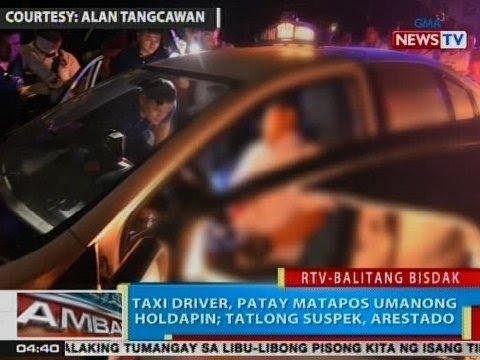 BP: Taxi driver, patay matapos umanong holdapin sa Cebu City