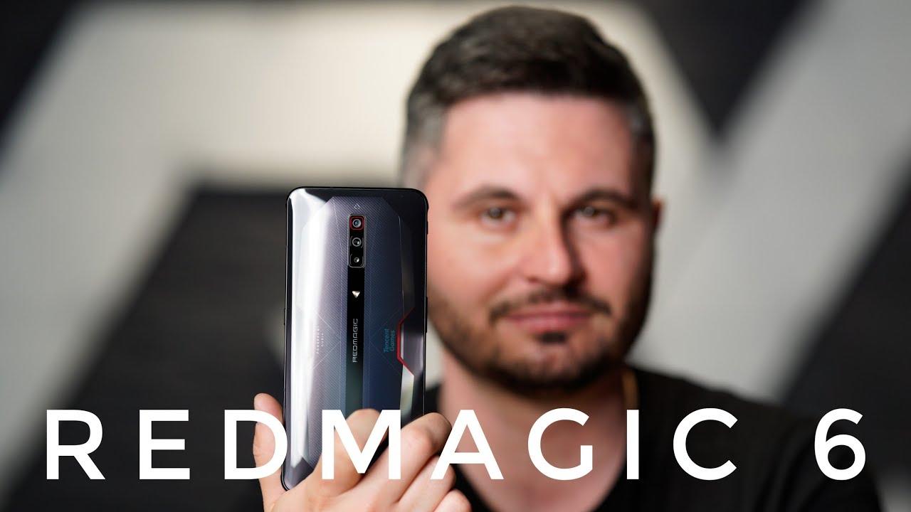 Nubia RedMagic 6 - Telefon de gaming accesibil