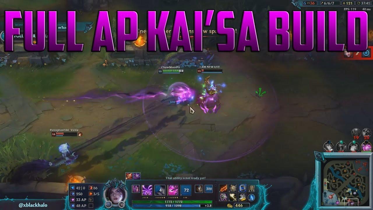 Kai'Sa Build Guide : (9 11) The BEST AP Kai'sa Build
