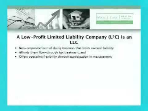[Introducing L3C - Part 2] L3Cs: Social Enterprise